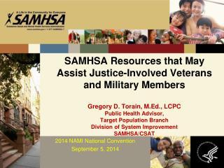 2014 NAMI National Convention September 5,  2014