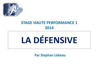 Par Stephan Lebeau