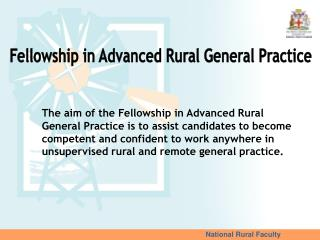 National Rural Faculty