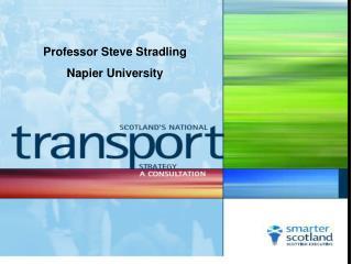 Professor Steve Stradling Napier University