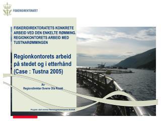 Program  start seminar R�mmingskommisjonen 28.09.06