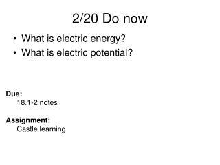 2/20 Do now