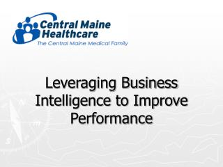 Leveraging Business Intelligence to Improve Performance