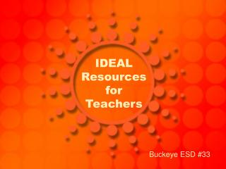 IDEAL Resources for Teachers