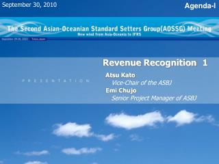 Revenue Recognition 1
