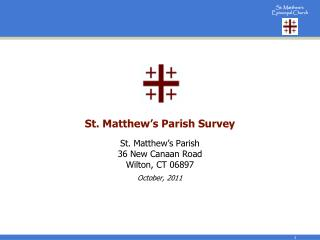 St. Matthew's Parish Survey