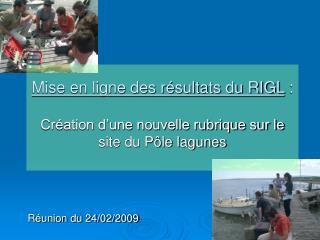 Réunion du 24/02/2009