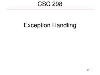 CSC 298
