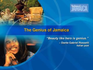 The Genius of Jamaica