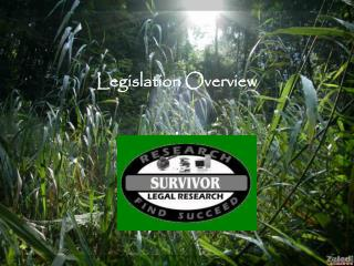 Legislation Overview