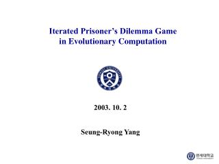Iterated Prisoner's Dilemma Game  in Evolutionary Computation