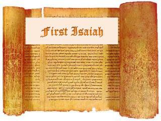 First Isaiah