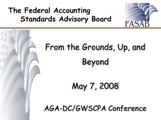 The Federal Accounting Standards Advisory Board