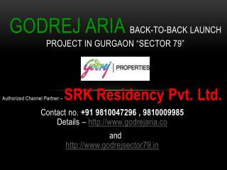 GODREJ NEW LAUNCH - GURGAON