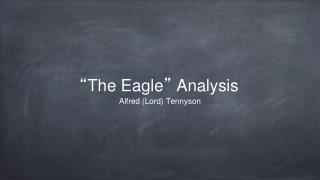 """ The Eagle ""  Analysis"