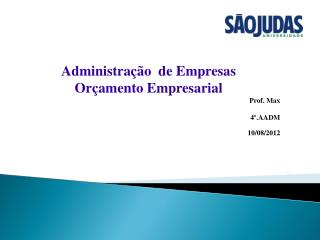 Prof. Maxwell Lucena