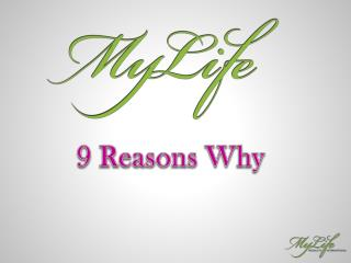 9 Reasons Why