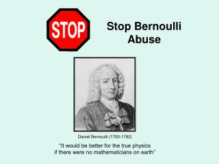 Bernoulli Theory