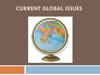 Current Global Issues