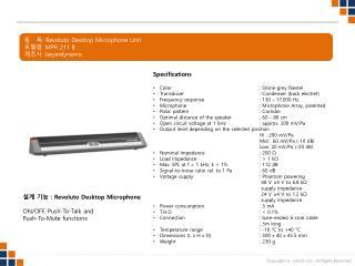 ?   ? : Revoluto  Desktop  Microphone Unit ??? :  MPR 211 B ??? :  beyerdynamic