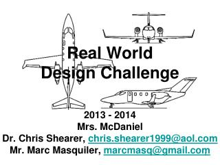 Real World Design Challenge