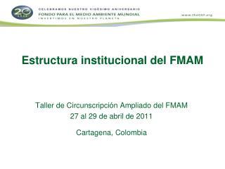 Estructura institucional del FMAM