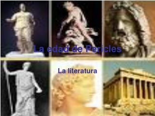 La edad de Pericles
