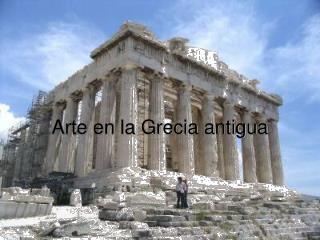 Arte en la Grecia antigua