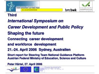Short report for Steering Team National Guidance Platform