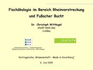 """Vortragsreihe """"Wissenschaft – Made in Vorarlberg"""""""