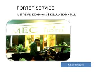 PORTER SERVICE