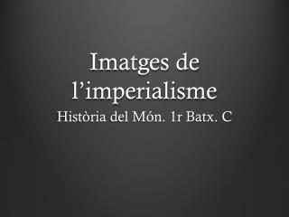 Imatges de l'imperialisme
