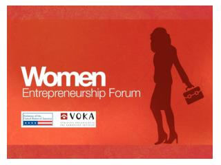 Women entrepreneurship forum