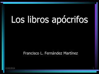 Los libros ap crifos