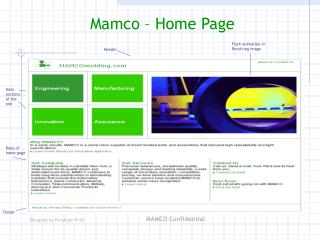 Mamco � Home Page