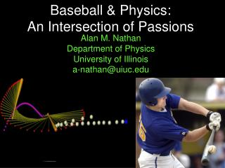 Baseball & Physics: An Intersection of Passions