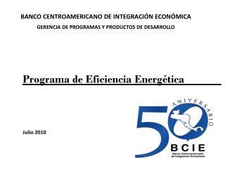 Programa de Eficiencia Energ�tica