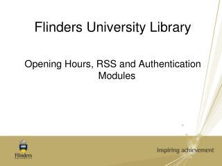 Flinders University Library