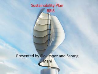 Sustainability Plan BBIS