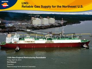 LNG: Reliable Gas Supply for the Northeast U.S.