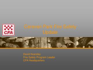 Caravan Park Fire Safety Update