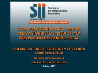 COLABORACIÓN SOCIAL PARA LA APLICACIÓN DE LOS TRIBUTOS Y LA PREVENCIÓN DEL FRAUDE FISCAL