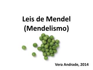 Leis  de Mendel (Mendelismo)