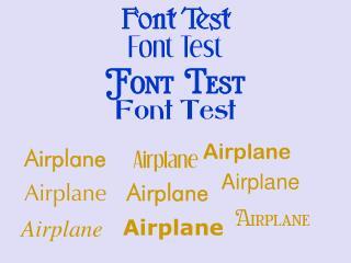 Font Test