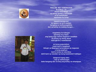 PAALAM  REY VENERACION Bcat/Bsie � 81