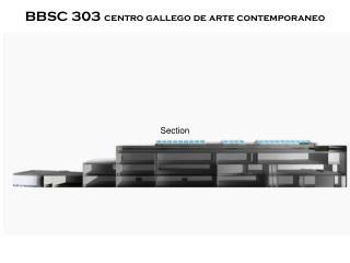 BBSC 303  centro gallego de arte contemporaneo