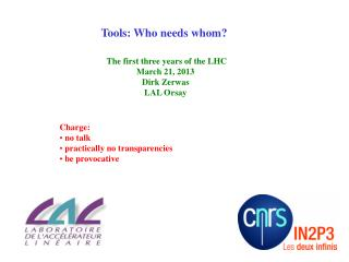 Tools: Who needs whom?
