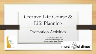 Reproductive Life Plans RLPs