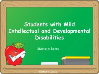 Students with Mild Intellectual and Developmental Disabilities