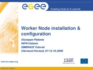 Worker Node installation & configuration